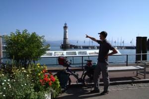 Start am Hafen von Lindau