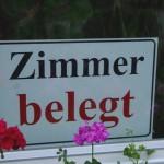"""Ein häufiges Schild am """"Bo-Kö-Radweg"""""""