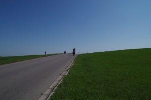 Geschafft, der höchste Punkt der Reise (995 m)