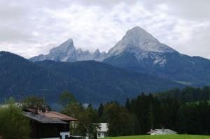 Der Watzmann von Bischofswiesen