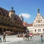 Marktplatz in Rothenburg o.d.Tauber