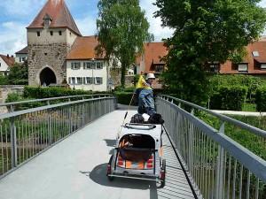 Radtouren mit Hund :: gut geplant mit Bayern-Radtour