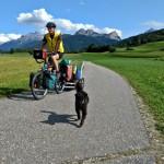 Radtour mit Hund