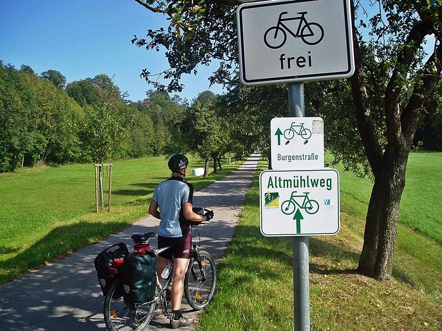 Altmühl Radweg :: günstig mit Bayern Radtour