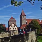 Altmühl Radweg in Bayern