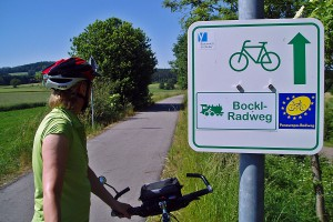 Grünes Dach Radweg :: günstig mit Bayern Radtour