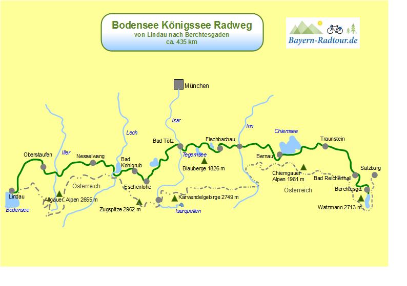 Bodensee Konigssee Radweg Der Klassiker