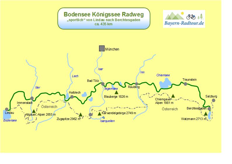 Karten Bo Ko Sportlich Neue Website Bayern Radtour