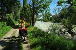 Von der Kaiserburg ins Karwendel :: Neue Radtour in Bayern