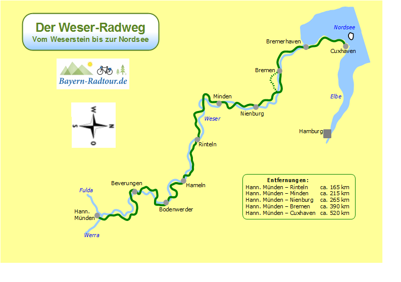 karte_weser_radweg_bayern-radtour