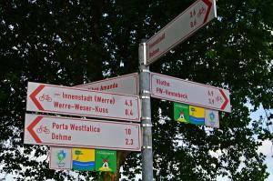Weser Radweg Kurzurlaub :: günstige Auszeit hier buchen