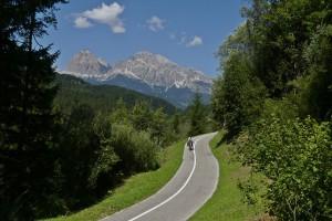 Der schönste Radweg der Welt - Dolomiten