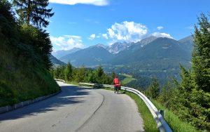 Radtour hinauf zum Brennerpass